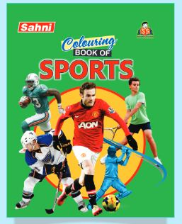 Colouring Book of Sports