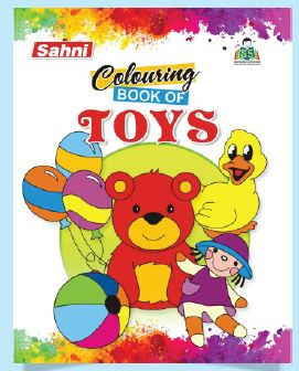 Colouring Book of Toys