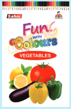 Fun with Colours Vegetable Book