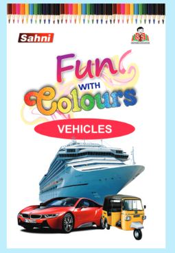 Fun with Colours Vehicles Book