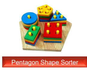 Pentagon Shape Sorter