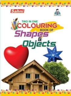 Two In One Colouring Book Of Shapes and Objects