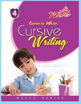 Waves Cursive Writing 4