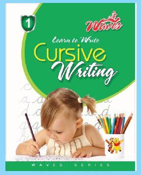 Waves Cursive Writing