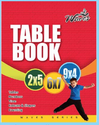 Waves Table Book