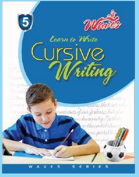 Waves cursive writing 5