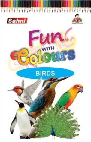 Fun with Colours Birds Book