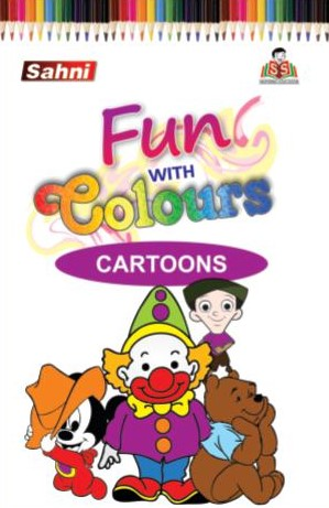 Fun with Colours Cartoons Book