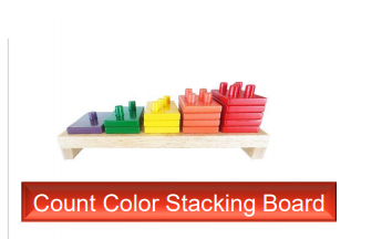 Count Color Stacking Board