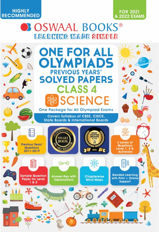 One for All Olympiad Previous Years Solved Papers