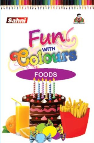Fun with Colours Foods Book