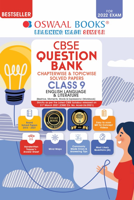 Oswaal CBSE Question Bank Class 9 English Language
