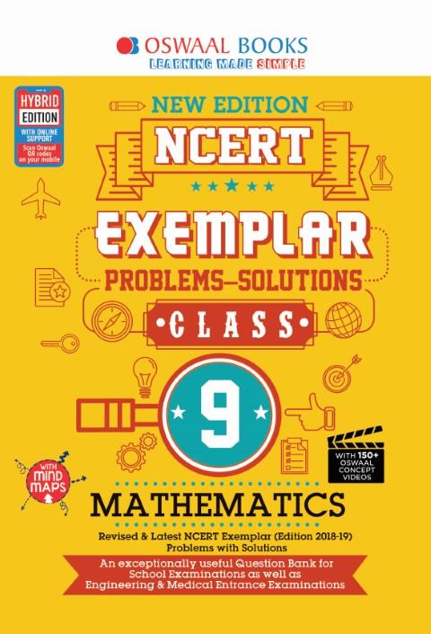 Oswaal NCERT Exemplar (Problems - solutions) Class 9 Mathematics Book