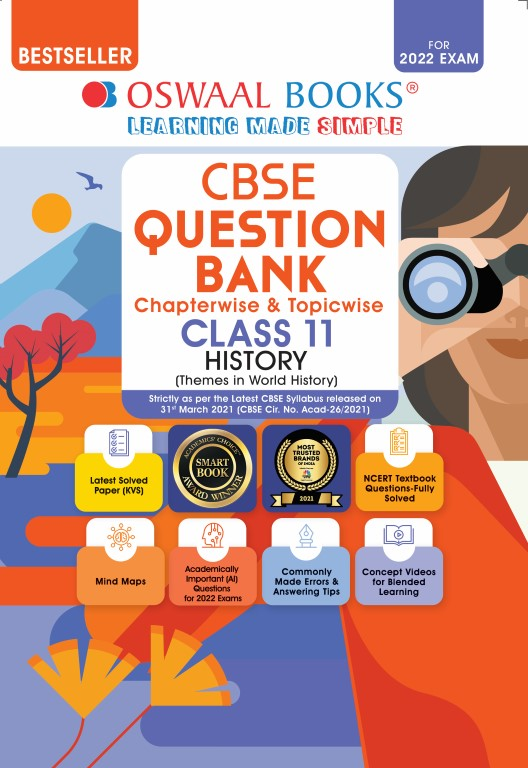 Oswaal CBSE Question Bank Class 11 History