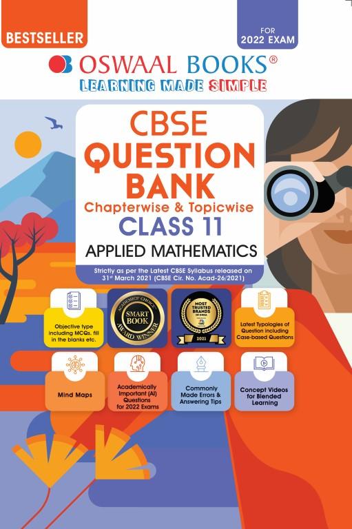 Oswaal CBSE Question Bank Class 11 Applied Mathematics
