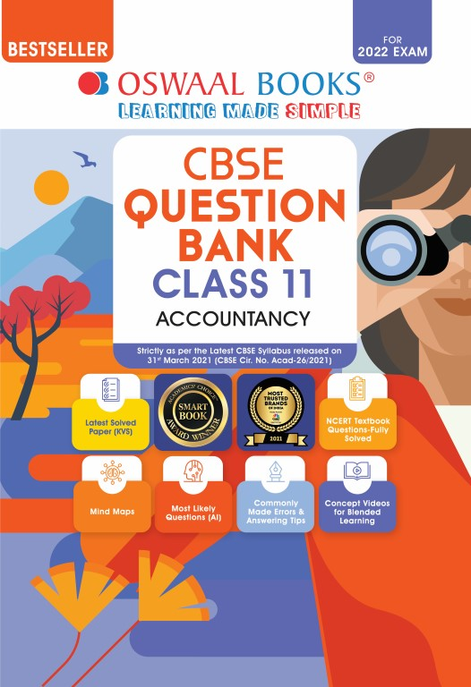 Oswaal CBSE Question Bank Class 11 Accountancy