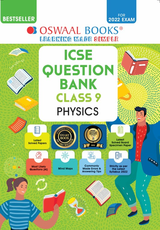 Oswaal ICSE Question Bank Class 9 Physics