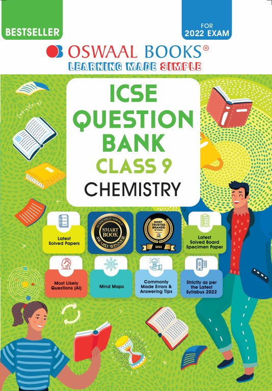 Oswaal ICSE Question Bank Class 9 Chemistry