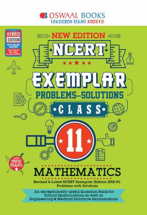 Oswaal NCERT Exemplar (Problems - solutions) Class 11 Mathematics Book
