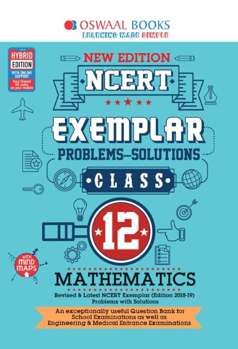 Oswaal NCERT Exemplar (Problems - solutions) Class 12 Mathematics Book
