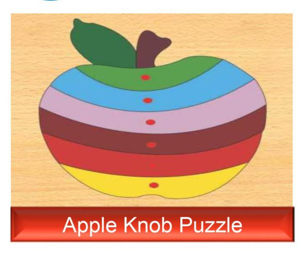 Apple Knob Puzzle