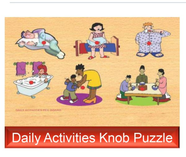 Daily Knob Puzzle