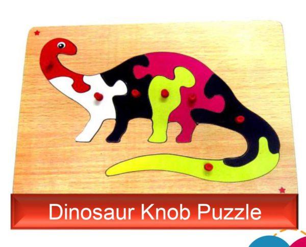 Dinosaur Knob Puzzle