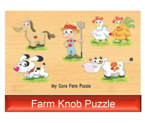 Farm Knob Puzzle