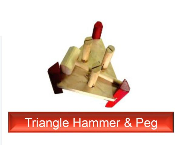 Triangle Hammer Peg
