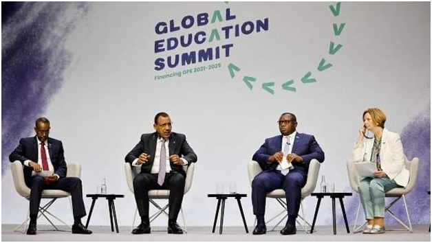 A Global Education Summit is being hosted by Kenya and UK in London