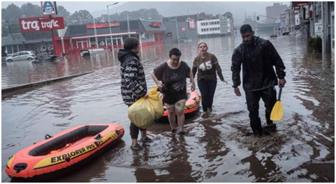 Floods in London Shows that the City is Not Ready for Climate Change