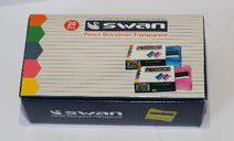 Swan Pencil Sharpener Transparent