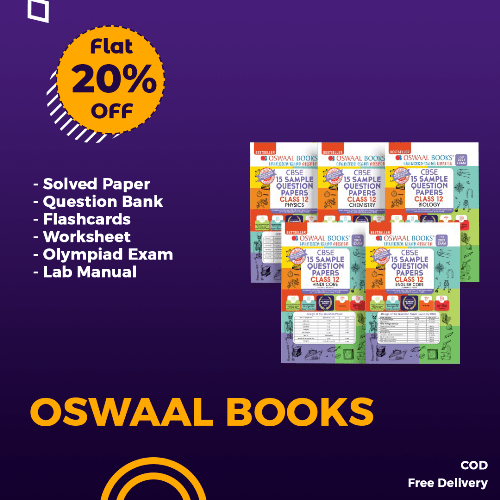 20% off on oswaal books