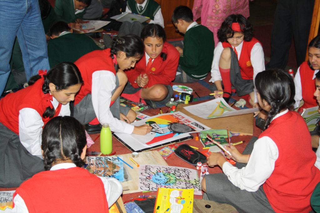 Celebration of Indian Akshay Urja Day: School Megamart 2021