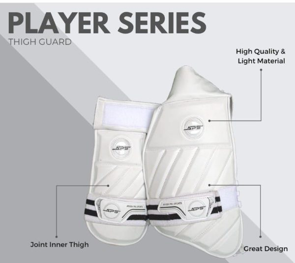 Aps player series combo thigh guard