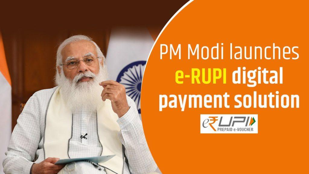 Narendra Modi is Set to Launch e-RUPI Digital Payment Solution