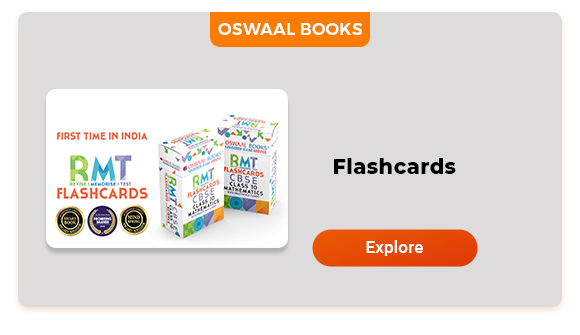 Oswaal Books-Flashcards