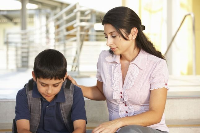 Listen to the concerns of your child