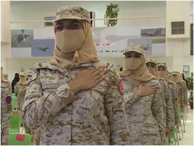 Women Soldiers' First Batch Graduated in Saudi Arabia
