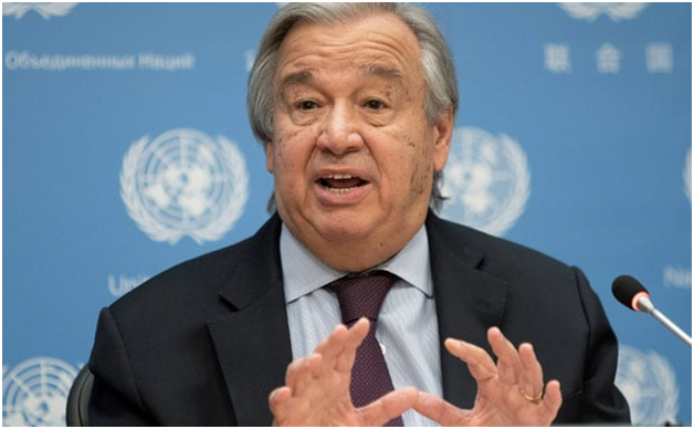 The UN Chief Warned that the World is 'Going in Wrong Direction'